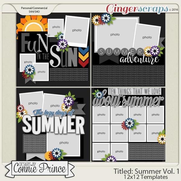 Titled Summer Volume 1 - 12x12 Temps (CU Ok)