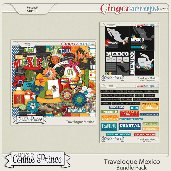 Travelogue Mexico - Bundle Pack