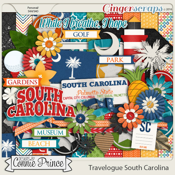 Travelogue South Carolina - Kit