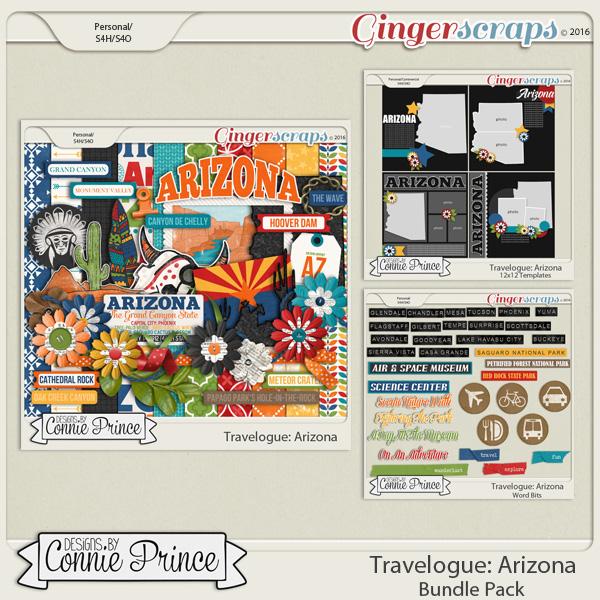 Travelogue Arizona - Bundle Pack