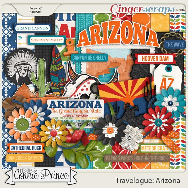 Travelogue Arizona - Kit