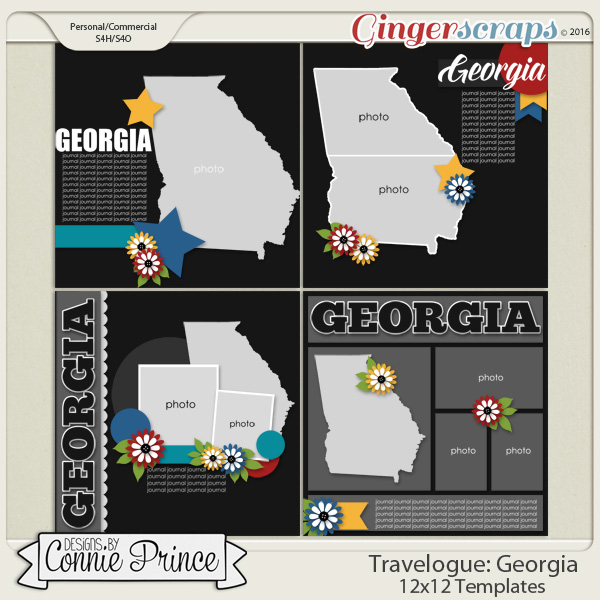 Travelogue Georgia - 12x12 Temps (CU Ok)