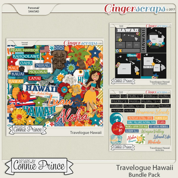 Travelogue Hawaii - Bundle Pack