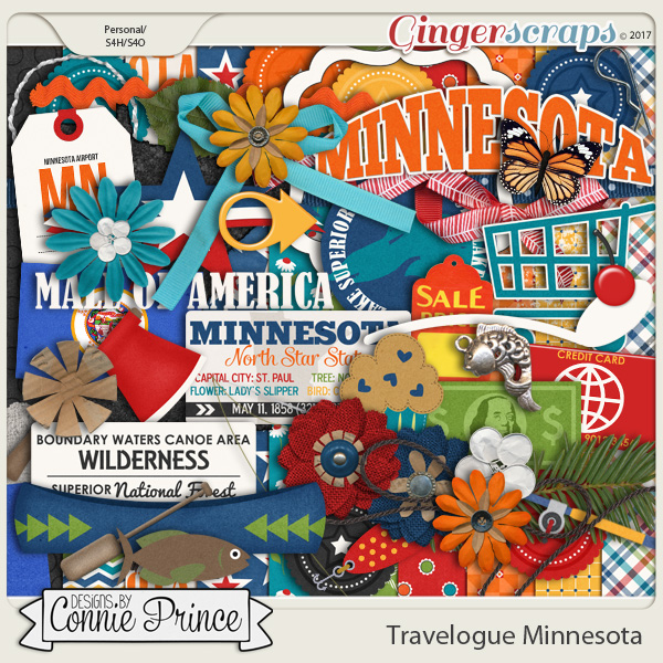 Travelogue Minnesota - Kit
