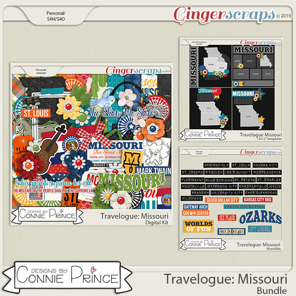 Travelogue Missouri - Bundle Pack by Connie Prince