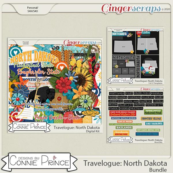 Travelogue North Dakota - Bundle Pack by Connie Prince