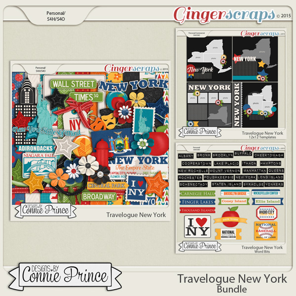 Travelogue New York - Bundle Pack