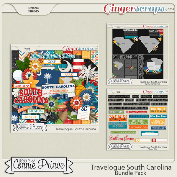 Travelogue South Carolina - Bundle Pack
