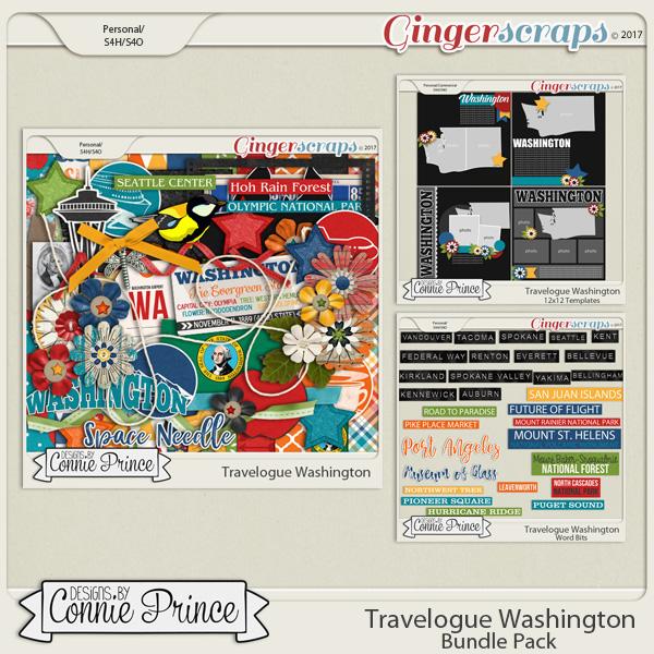 Travelogue Washington - Bundle Pack