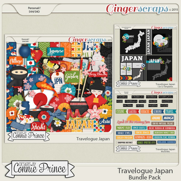 Travelogue Japan - Bundle Pack