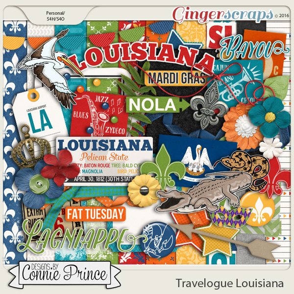 Travelogue Louisiana - Kit
