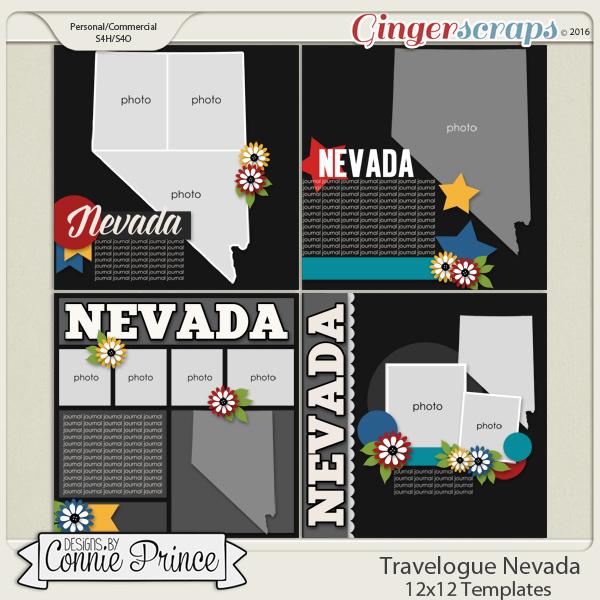 Travelogue Nevada - 12x12 Temps (CU Ok)