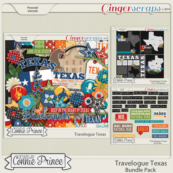Travelogue Texas - Bundle Pack