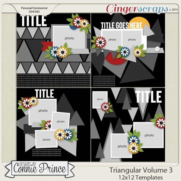 Triangular Volume 3 - 12x12 Temps (CU Ok)