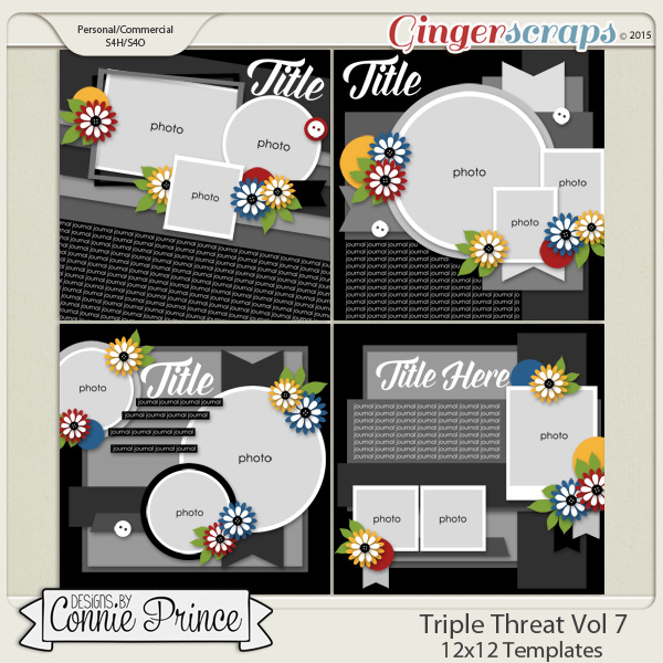 Triple Threat Volume 7 - 12x12 Temps (CU Ok)