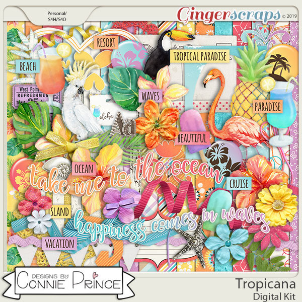 Tropicana - Kit by Connie Prince
