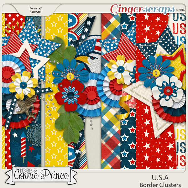 U.S.A. - Border Clusters