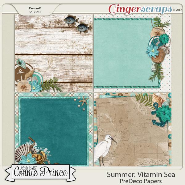Vitamin Sea - PreDeco Papers