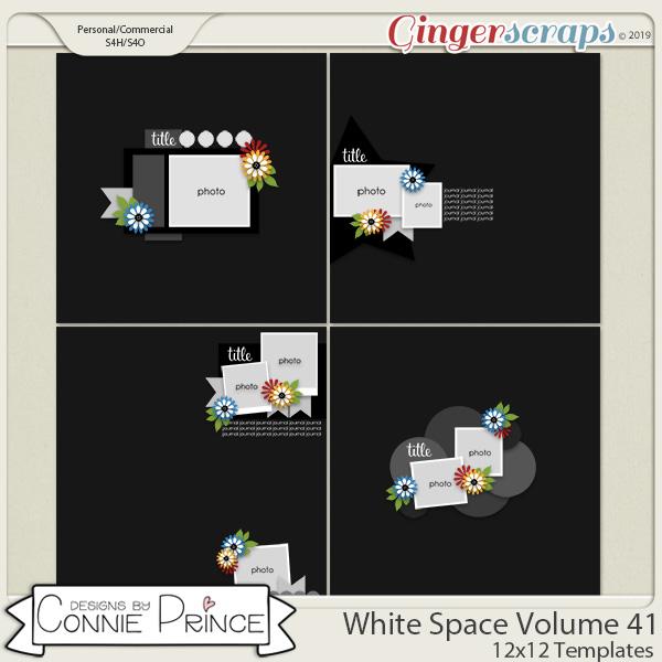 White Space Volume 41 - 12x12 Temps (CU Ok) by Connie Prince