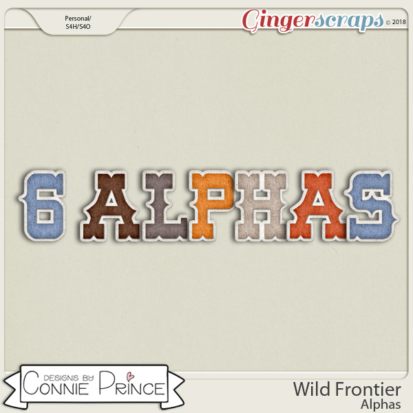 Wild Frontier - Alpha Pack AddOn by Connie Prince