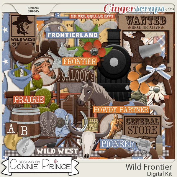 Wild Frontier - Kit by Connie Prince