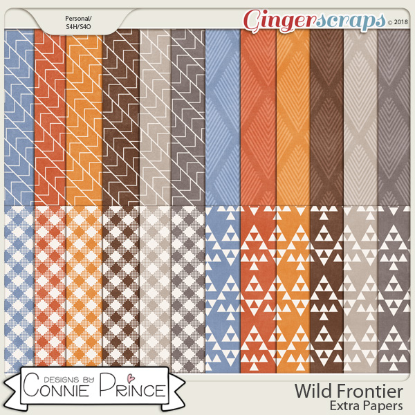 Wild Frontier - Extra Papers by Connie Prince