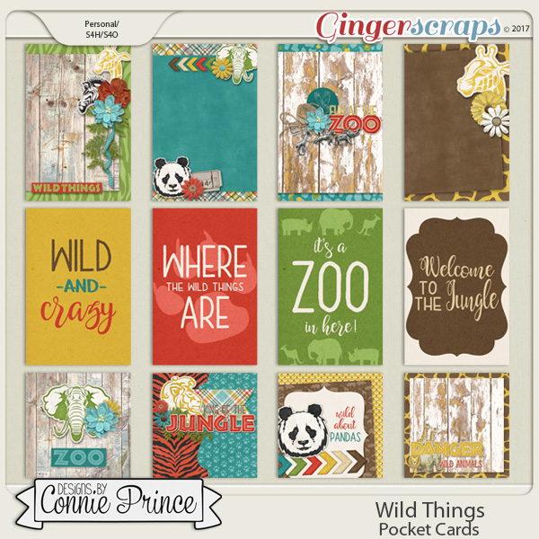 Wild Things - Pocket Cards