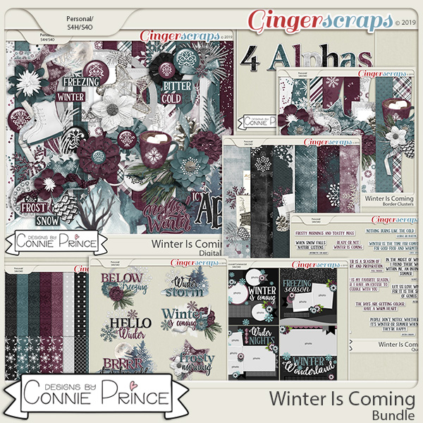 Winter Is Coming - Bundle by Connie Prince