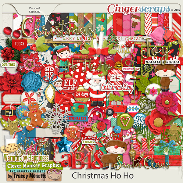 Christmas Ho Ho by Clever Monkey Graphics