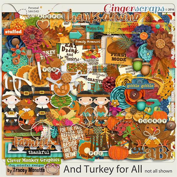 And Turkey for All by Clever Monkey Graphics