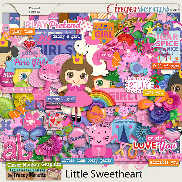 Little Sweetheart by Clever Monkey Graphics