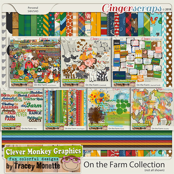 On the Farm Collection by Clever Monkey Graphics