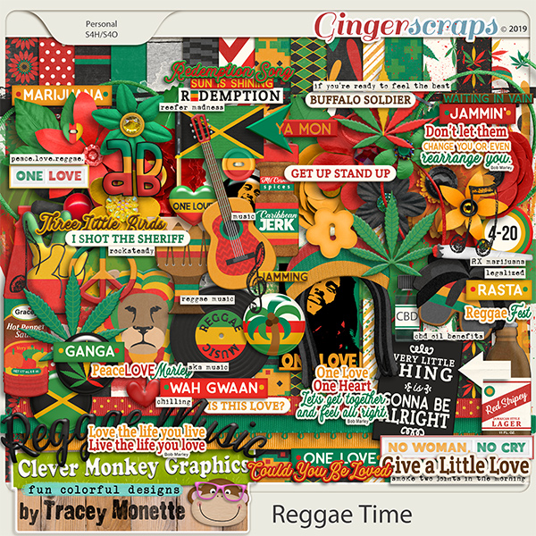 Reggae Time by Clever Monkey Graphics