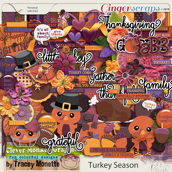 Turkey Season by Clever Monkey Graphics