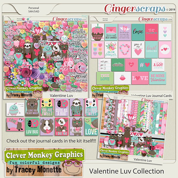 Valentine Luv Collection by Clever Monkey Graphics