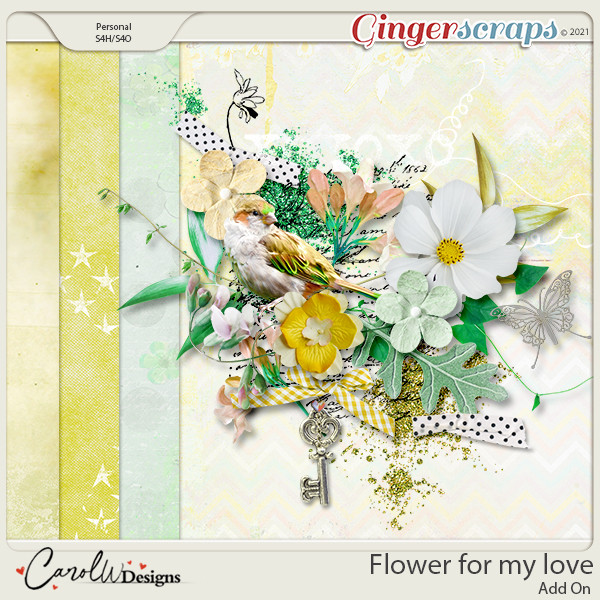 Flowers for my love-Add on