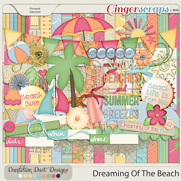 Dreaming Of The Beach By Dandelion Dust Designs