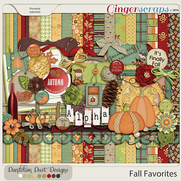 Fall Favorites By Dandelion Dust Designs