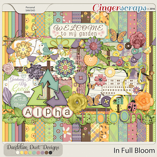 In Full Bloom by Dandelion Dust Designs