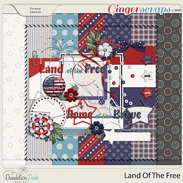 Land Of The Free by Dandelion Dust Designs