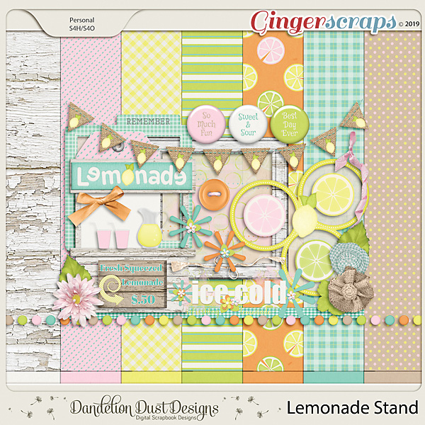 Lemonade Stand by Dandelion Dust Designs
