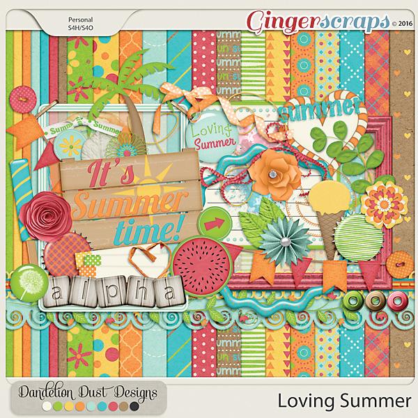 Loving Summer by Dandelion Dust Designs