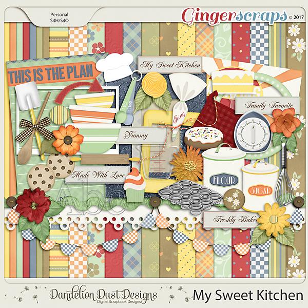 My Sweet Kitchen By Dandelion Dust Designs
