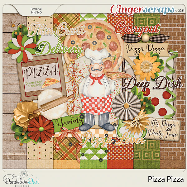 Pizza Pizza Collection by Dandelion Dust Designs