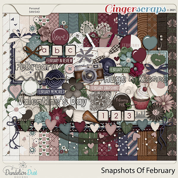 Snapshots Of February by Dandelion Dust Designs