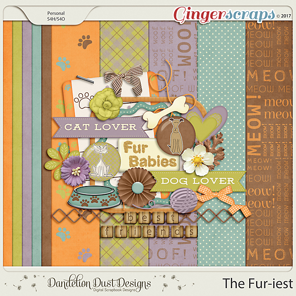 The Fur-iest By Dandelion Dust Designs