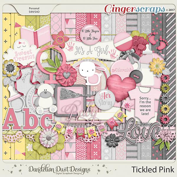 Tickled Pink By Dandelion Dust Designs