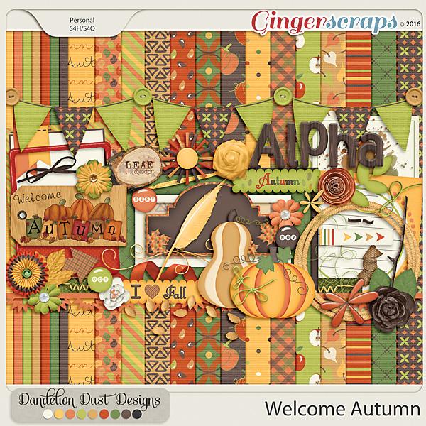 Welcome Autumn By Dandelion Dust Designs