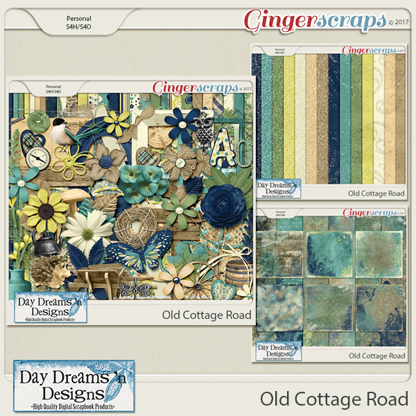 Old Cottage Road {Bundled Collection} by Day Dreams 'n Designs