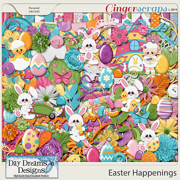 Easter Happenings {Kit} by Day Dreams 'n Designs
